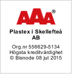 Plastex rating: AAA