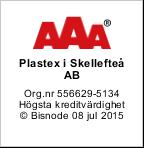 Plastex rating: AAA
